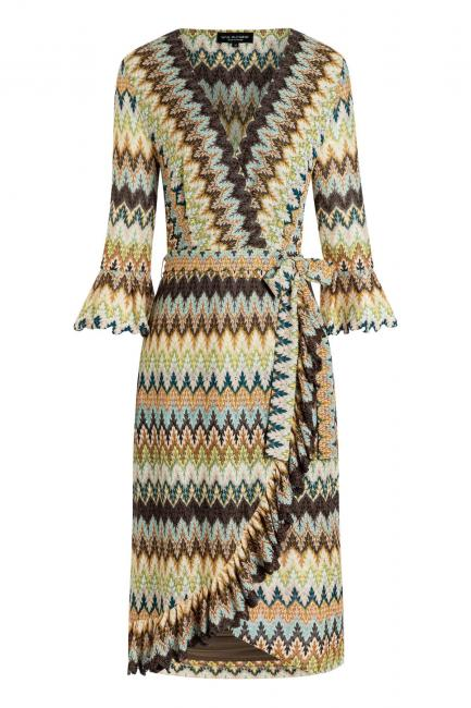 Ana Alcazar Wrap Dress Zagea