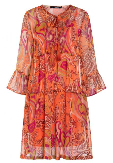 Ana Alcazar Short Boho Dress Asaly