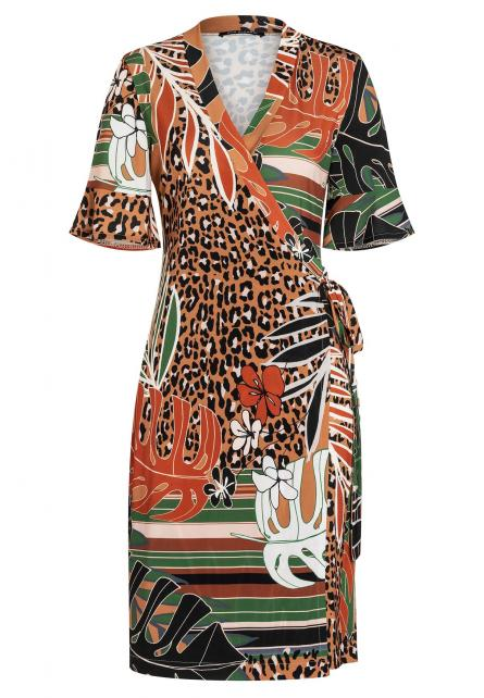 Ana Alcazar Wrap Dress Atema