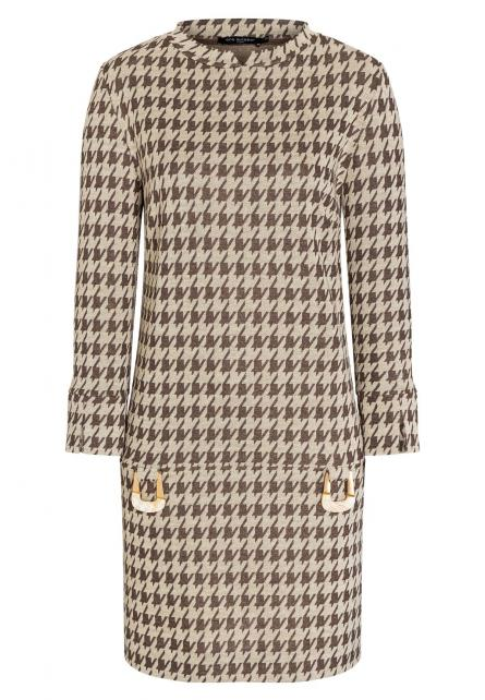 Houndstooth Dress Beipy