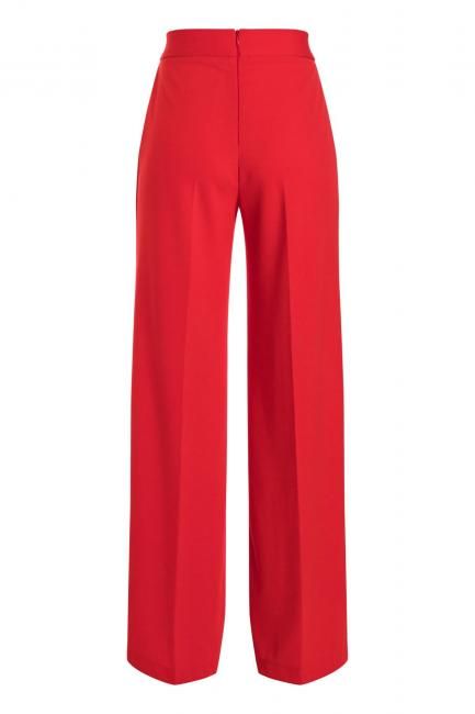 Ana Alcazar Wide Pants Sazore Red