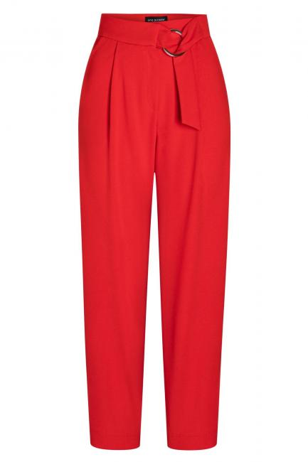 Ana Alcazar Cropped Pants Seadone Red
