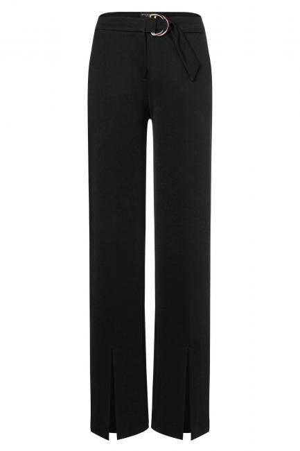 Ana Alcazar Long Trousers Zubas Black