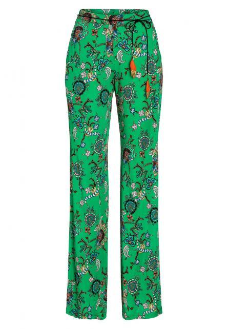 Ana Alcazar Long Print Pants Avaya