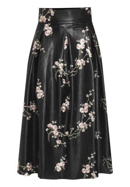 Midi Skirt Bylon