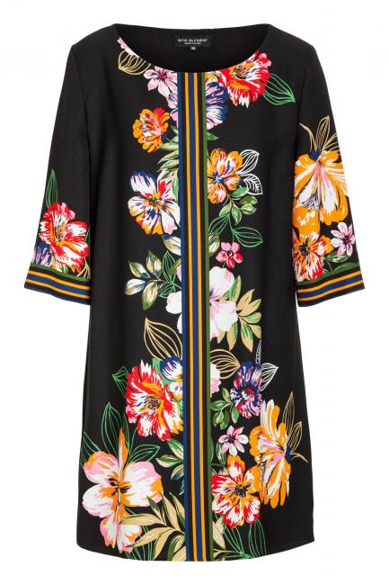 Ana Alcazar Tunic Dress Meanisa Dark