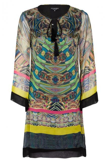 Ana Alcazar Silk Tunic Dress Fortines