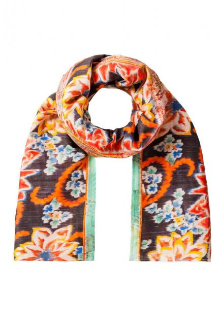 ana alcazar Cotton Scarf Yonely
