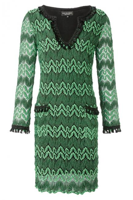 ana alcazar Tunic Dress Aydisgreen