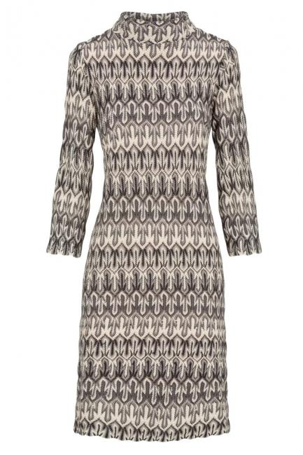 Ana Alcazar Knitted Dress Dunovy
