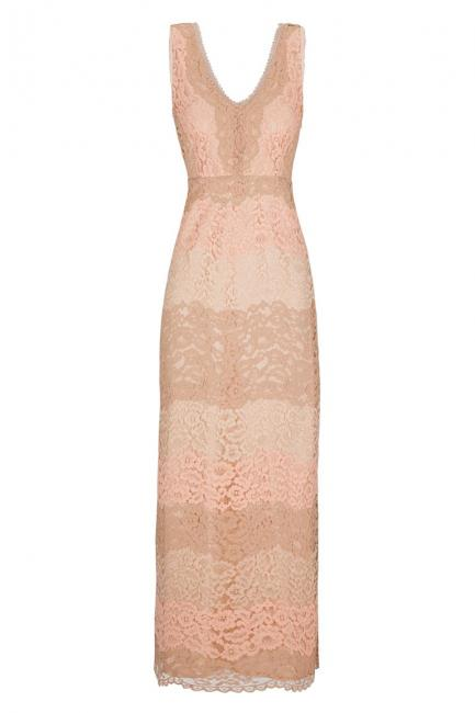 Ana Alcazar Maxi Dress Rose Flacony