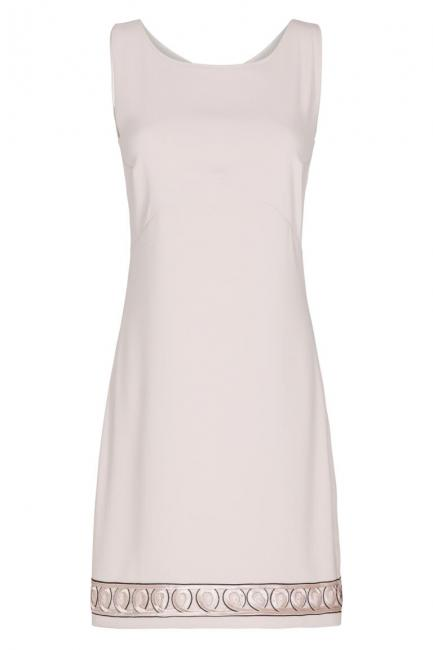 Ana Alcazar Shift Dress Rose Faboly