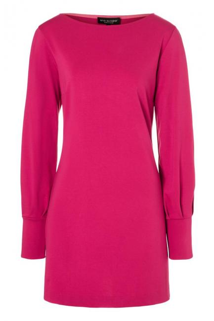 Ana Alcazar Sleeved Dress Olisudy Pink