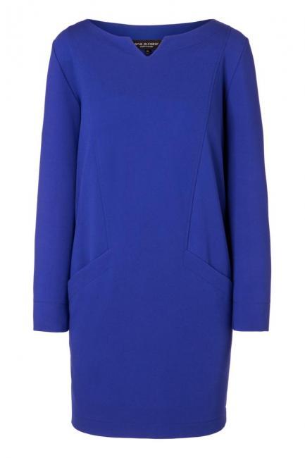 Ana Alcazar Kleid mit Taschen Ozorea Blau