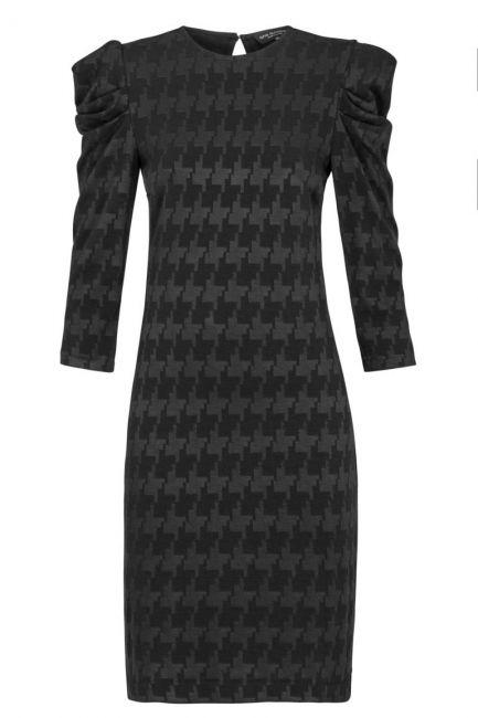 Ana Alcazar Shift Dress Kyrsta Black
