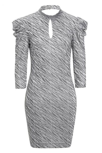 Ana Alcazar Puff Sleeves Dress Kimy Light