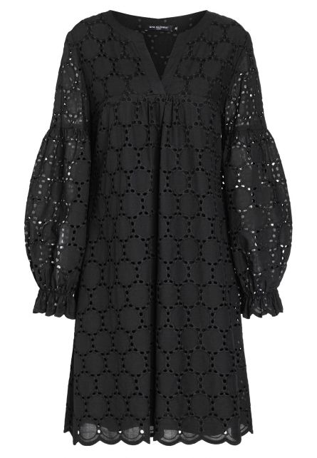 Ana Alcazar Boho Dress Zeka Black