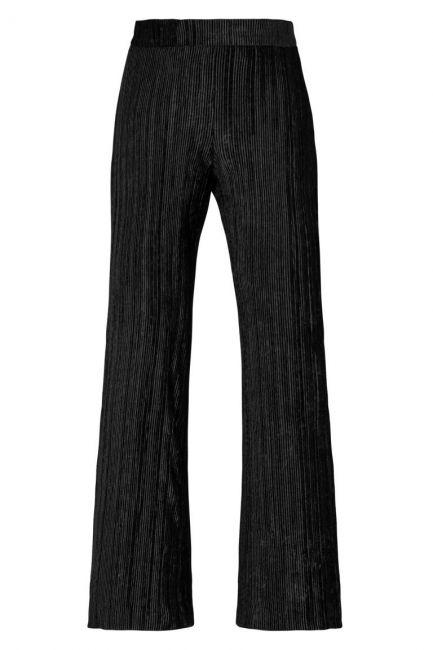 Ana Alcazar Plissee Trousers Krystal