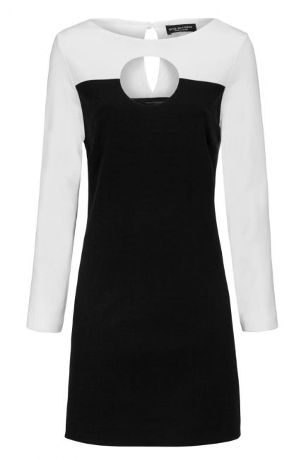 Ana Alcazar Cut Out Dress Drelowy