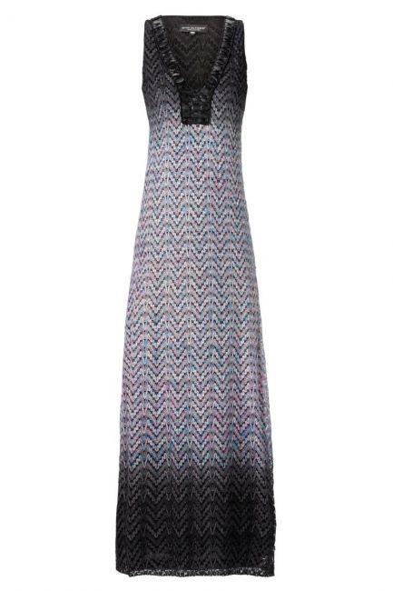 ana alcazar Knitted Maxi Dress Ademolesty