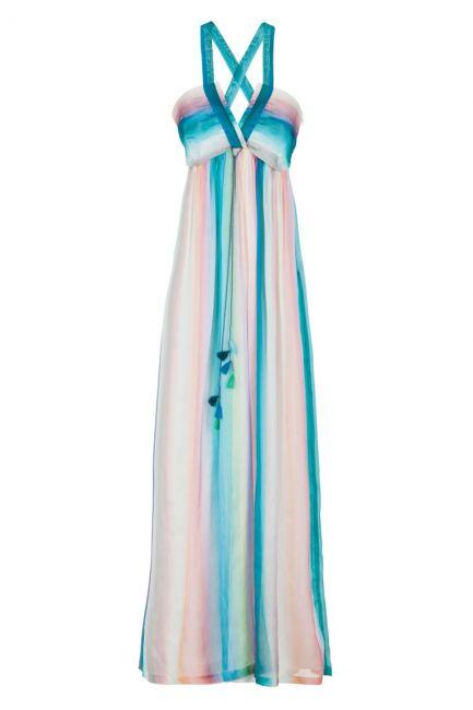 Ana Alcazar Silk Maxi Dress Gisella