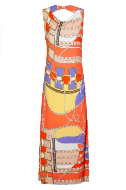 ana alcazar Colourful Maxi Dress Aranjea