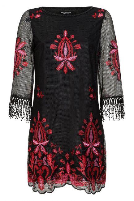 Ana Alcazar Lace Tunic Dress Laena