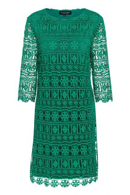 Ana Alcazar A-Shaped Dress Saida Green
