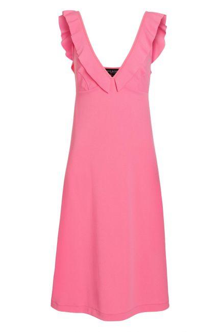 Ana Alcazar Midi Dress Sawonte Rose