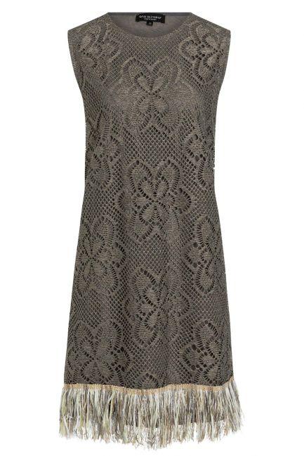 Ana Alcazar Fringe Dress Taimy