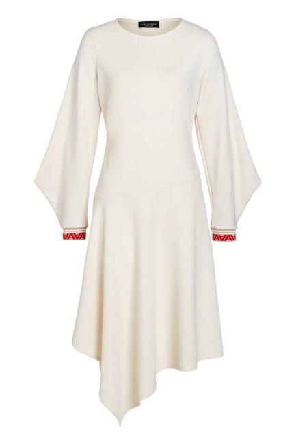 Ana Alcazar Midi Kleid Vaduly Offwhite