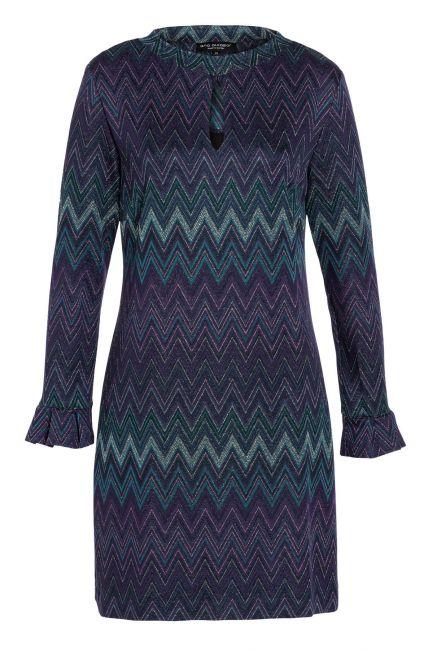 Ana Alcazar Tunic Dress Vubasi Blue