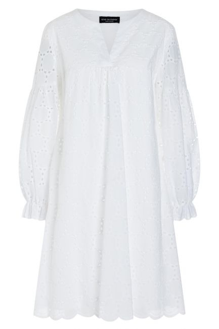 Ana Alcazar Boho Dress Zekea White