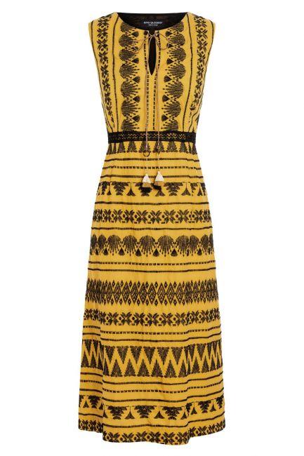 Ana Alcazar Midi Dress Zelmy