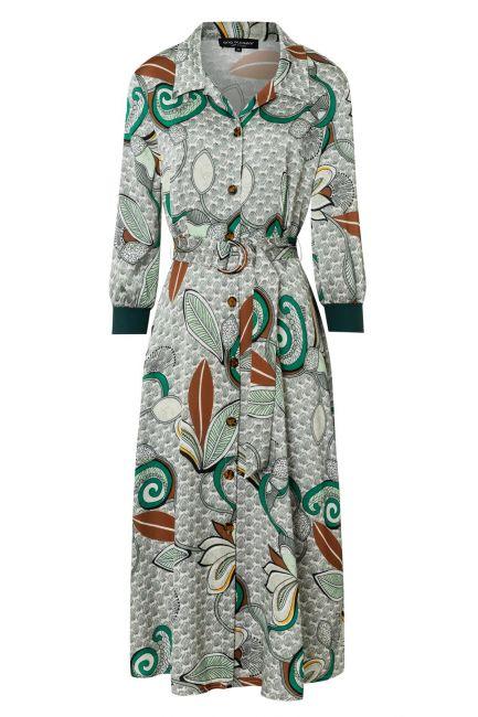 Ana Alcazar Midi Dress Zeska