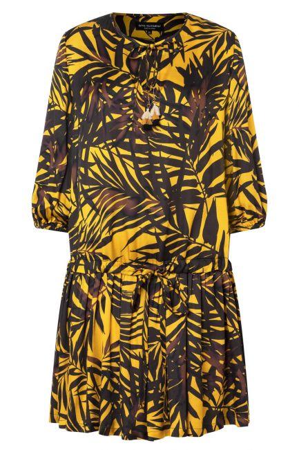 Ana Alcazar Volant Dress Zabur
