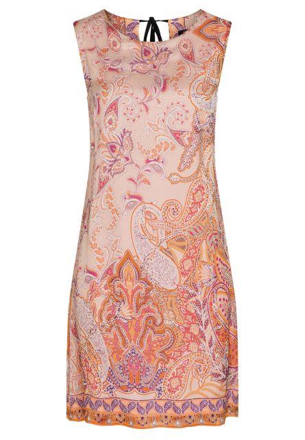 Ana Alcazar Silk Dress Zezyl Light