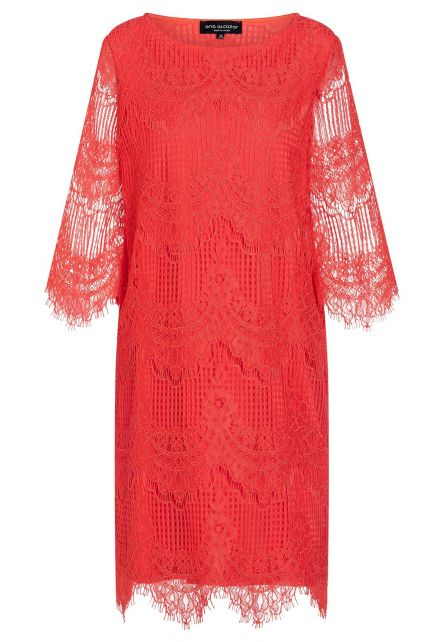 Ana Alcazar Lace Dress Afna