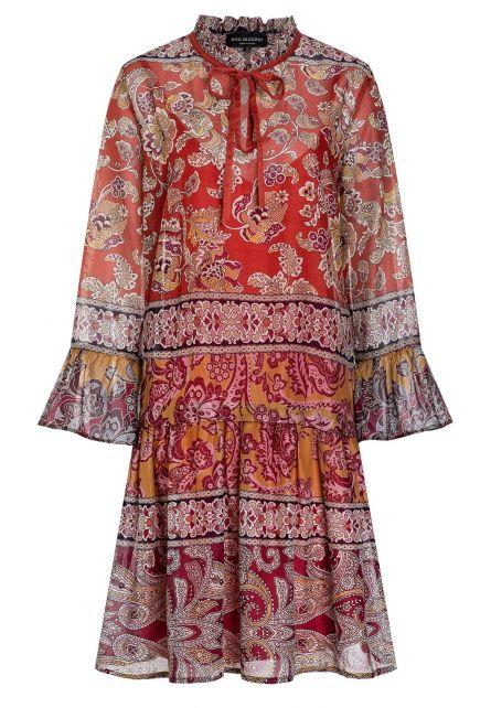 Ana Alcazar Short Boho Dress Apyle