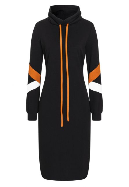 Long Sleeve Dress Batwy