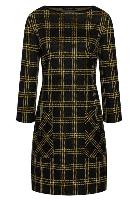 Checked Dress Bemly