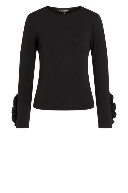 Ana Alcazar Sweater Paia Schwarz