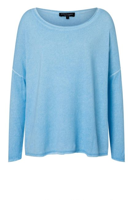 Ana Alcazar Sweater Zynos Blue