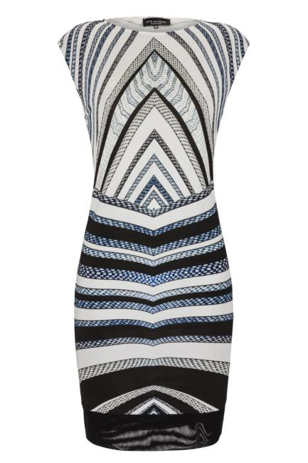 Ana Alcazar Graphic Dress Gluestis