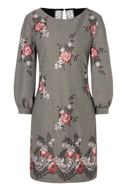 Ana Alcazar A-Linien Kleid Oprawe