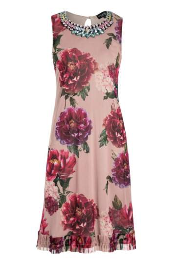 Ana Alcazar Flower Dress Niva