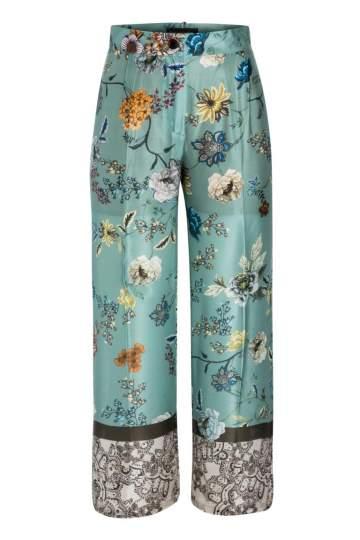 Ana Alcazar Silk Trousers Nasiky