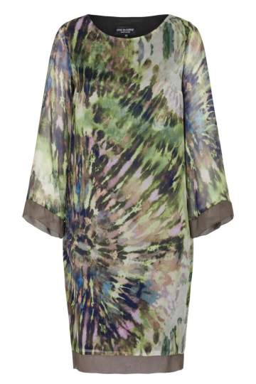 Ana Alcazar Silk Tunic Dress Fayris