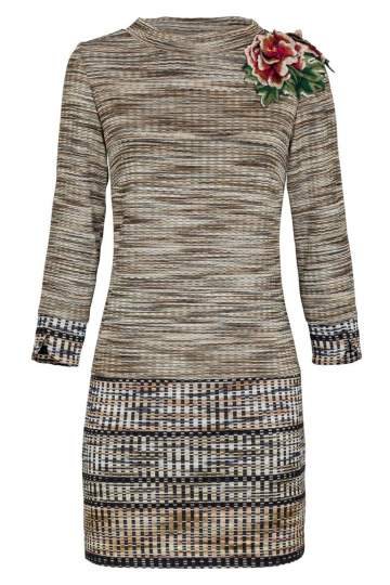 Ana Alcazar Knitted Dress Koppera