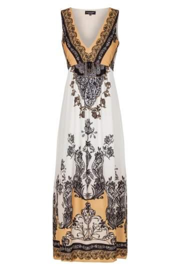 Ana Alcazar Midi Print Dress Farady